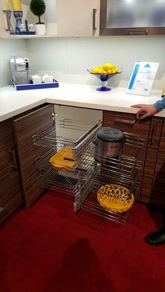 Pull Out Baskets For Blind Cabinet Rev A Shelf