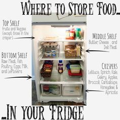 Who doesn't struggle with keeping their fridge clean? It's the constant in kitchens everywhere, but it doesn't have to be this hard! Using the tricks and methods listed here, your fridge can be spotless and organized everyday!