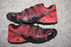 Solomon Fell Cross 1 training shoes 9 mens 42 2/3 European nine black red yellow #Solomon #RunningCrossTraining