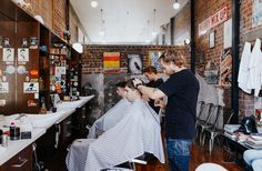 The experienced and friendly barbers here at New City Barbers in Christchurch are more than happy to help you pick a new look or tidy up an old one.