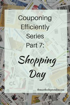 Part 7 of couponing efficiently describes what one can expect before, during, and after their shopping trip.
