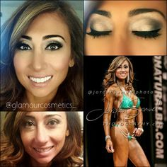 Instagram: @glamourcosmetics_  A HUGE and way overdue congratulations to my client and now friend @taline_bikinipro Glamorized Taline for her competition at the #WNBF WORLD Championship where she won FIRST PLACE in the Pro Bikini Class! So proud of you girl!!!    @erabeautyus0789 foundation in Y5 and Y7 @flutterlashes i forget the name sorry!  @urbandecay naked 2 palette for eyes   G.L'amour Cosmetics @glamourcosmetics_ Instagram photos | Websta (Webstagram)