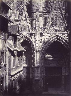 Edmond Bacot,Saint-Maclou, Rouen, 1852