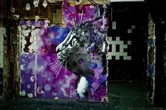 Fifty Street Artists Descend on Condemned Parisian Nightclub Les Bains  street art Paris