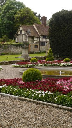 Flowers at Ightham Mote in #Kent #England #nationaltrust