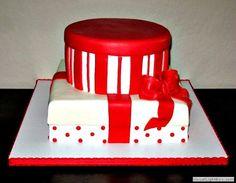 Hat Box and Gift Wedding Cake