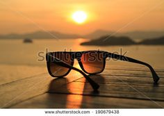 Sunglasses at Sunset by Ozphotoguy, via Shutterstock