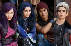 Disney's original movie, The Descendants. The descendants of malefacent (dove Cameron) , Jafar (Booboo Stewart), the Evil Queen and Cruella De Ville (Cameron Boyce)! Looks like a great movie!! Coming out in 2015