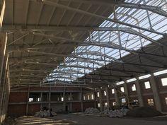 Çelik Konstrüksiyon #çelik #metal #çelikyapılar #çelikbina #hangar #fabrika
