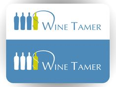 Logo for a start up that will bring wine to the people by FourFightingFoxes