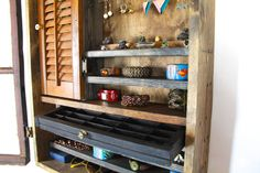 Wall Jewelry Organizer 30x23 by TANGLeAndFoLd on Etsy, $400.00