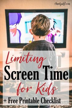 Easy 4 step system and a free checklist. Every parent needs to read this. Screen Time For Kids, Learning Through Play, Frugal Tips, Kids Corner, Community Boards, Educational Activities, Parenting Advice, Homemaking, Encouragement