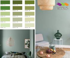 """#VersusTrends Sandra Larkin from Sandra Larkin Interior Design predicts the trends that we will see following through to next year... """"All shades of Green from Night-watch Green, which is a moodier more romantic take on the 90's Hunters Green to calming Sage Green. This is both a carry over from the 2017 Pantone colour of the year as well as an alternative neutral wall colour that is not grey"""" Visit our Versus Parkhurst store to mix up your own unique version of this trend. #VersusPaint Color Of The Year 2017 Pantone, Pantone Color, Flooring Store, Carpet Flooring, Neutral Wall Colors, Paint Colors, Shades Of Green, Hunters, Calming"""