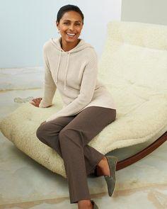 Weekend sweater hoodie l #ColdwaterCreek