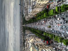 The Avenue des Champs-Élysées, as viewed from the Arc de Triomphe de l'Étoile
