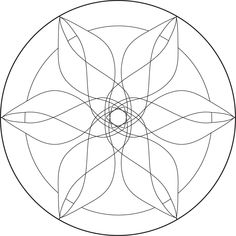 Lacefairy Zentangels: Free Mandala Templates