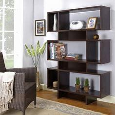 Comfort Products Adina Small Bookshelf Brown