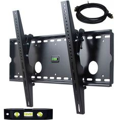 VideoSecu Tilting Plasma LCD TV Wall Mount Bracket for LG 37 42 47 50 inch 37LC7D 37LG30 37LG30DC LG3760 42LG50 42LG30DC 42PG25 OPUS 42LBX 42LE5400 LG 47LG60 50PG25 55LE5400 with Free 7 feet HDMI Cable 1AE