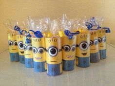 valentine idea - youre one in a minion! Or a great idea for a Minion birthday party! Minion Theme, Minion Birthday, Minion Valentine, Valentines, Minion Candy, Despicable Me Party, Candy Party Favors, Its My Bday, 4th Birthday Parties