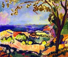 Sea at Collioure by Henri Matisse