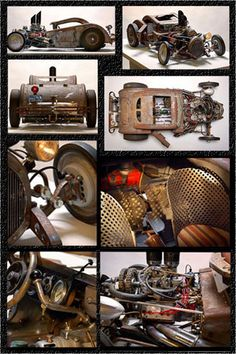 'rat rod art'