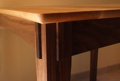 Black and Tan Table | Redwine Bespoke Furniture | Custom Furniture and Cabinetry in Madison, Wisconsin