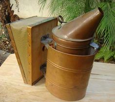 BEE SMOKER, COPPER, DADANT, VINTAGE, ANTIQUE, NEVER USED, COLLECTABLE | eBay