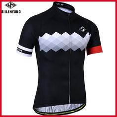SIILENYOND Quick Dry Cycling Jersey Summer Short Sleeve MTB Bike Cycling  Clothing Ropa Maillot Ciclismo Racing a125c711f20