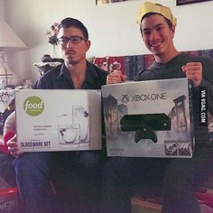 """Being the older """"mature"""" brother on Christmas.Growing up is over rated - cut your crap"""