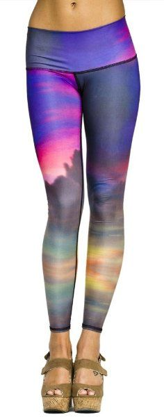 3f583342c99be Clouds Yoga Hot Pant by Teeki (eco-friendly!) Best Yoga Leggings,
