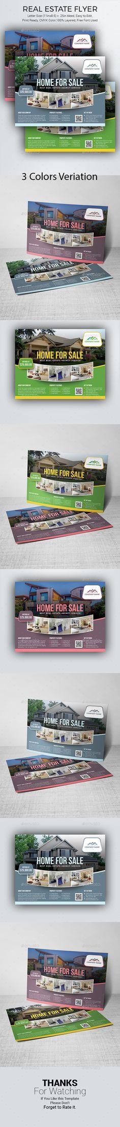 #Real Estate Flyer - #Commerce #Flyers