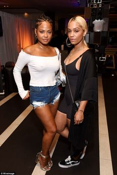 Christina Milian flaunts toned legs in Daisy Dukes at Coachella party #dailymail