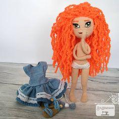 Crochet Doll 🤭🧡 Crochet Hats, Dolls, Instagram, Knitting Hats, Baby Dolls, Puppet, Doll, Baby, Girl Dolls