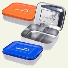 LunchBots Stainless Steel Food Containers are an eco-friendly way to pack a balanced lunch. #Bento style inner compartments separate your sides and snacks. #wastefree