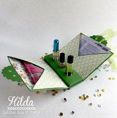 Latinas Arts and Crafts: Tutorial Bolsa de Regalo