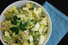 This American potato salad recipe is a cookout classic.  --Credit: Jen Perez