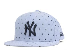 New York Yankees Star Dot On Oxford 59Fifty Fitted Baseball Cap by NEW ERA x MLB