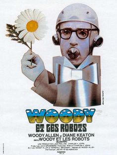 """Awesome Sleeper film poster: """"Woody et les robots"""""""