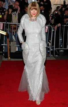 Anna Wintour's Met Gala Style Evolution | People