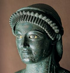 A glass-eyed bronze statue of Apollo, Greek god of the arts, was excavated from the Pompeii house of Julius Polybius in the 1970s. Consumed By the Volcano's Fiery Wrath in A.D. 79, The victims of Mount Vesuvius clutched their treasures in vain.