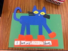 My kids love Pete the Cat! Here are a bunch of cute ideas to go along with the book