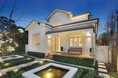 Whetstone Windows & Doors is a family owned and run Melbourne based company specialising in bifold doors, period and contemporary doors and windows. Timber Windows, Windows And Doors, Bifold French Doors, Weatherboard House, Australia House, 2 Storey House, Edwardian House, Melbourne House, Contemporary Doors