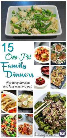 One pot dinner for busy families. It's healthy, easy to clean, quick and tasty. No fuss after eating, 5 minute cleanup and one pot cooking. Quick Recipes, Whole Food Recipes, Healthy Recipes, Healthy Food, Healthy Life, Healthy Family Dinners, Family Meals, Easy Meals, Healthy Toddler Snacks
