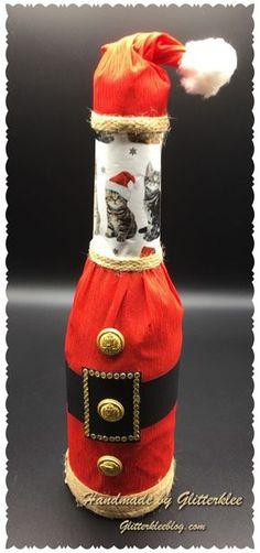 Paper Crafts, Diy Crafts, Diy Weihnachten, Kindergarten, Home Decor, Baby, Diy Christmas Gifts, Decorate Bottles, Wrapping Gifts