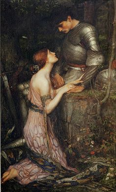 "J.W Waterhouse ""Lamia"" 1905....just love"