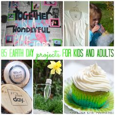 Earth day crafts (April 22nd is Earth Day!)