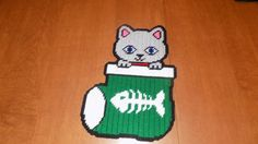 Cat Stocking or dog stocking by TmSalesCreations on Etsy