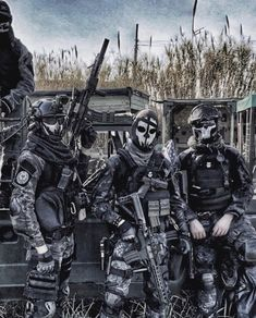 Special Forces Gear, Military Special Forces, Military Guns, Military Art, Us Ranger, Ghost Soldiers, Tactical Armor, Combat Armor, Futuristic Armour