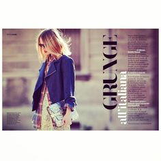 MAGAZINE TIME, GRUNGE all'italiana #emmetrend #fashionblogger #gioia #magazine