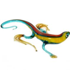 Glass Salamander Figurine is a hand-blown glass figurine which is made by the Russian arti. http://russian-crafts.com/glass-figurines/glass-reptiles/glass-salamander-figurine.html